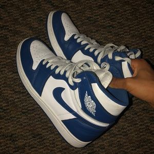"AIR JORDAN 1 RETRO HIGH OG ""STORM BLUE"